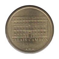 75026 - MEDAILLE TOURISTIQUE MONNAIE DE PARIS 75 - Palais Cambon - 2007 - Monnaie De Paris
