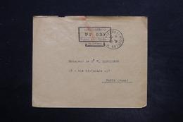 SAINT PIERRE & MIQUELON -Cachet PP 030 De Saint Pierre Sur Enveloppe En 1926 Pour Paris - L 26331 - Lettres & Documents