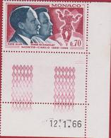 Monaco 1966 - René Blum And Serge De Diaghilev Dance Harlekijn Arlecchino Harlequin Circus Dans Timbre Stamp 70 Ct - Mónaco