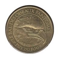 85007 - MEDAILLE TOURISTIQUE MONNAIE DE PARIS 85 - Puy Du Fou Bal Des Oiseaux - 2016 - 2016