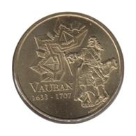 89003 - MEDAILLE TOURISTIQUE MONNAIE DE PARIS 89 - Maison Vauban - 2012 - Monnaie De Paris