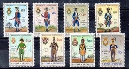 Serie De Santo Tomé Y Principe N ºYvert 391/98 ** Y * Un Valor Con Punto De óxido - Sao Tome Et Principe