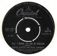 """Bobbie Gentry And Glen Campbell    """"  All I Have To Do Is Dream  """" - Filmmusik"""