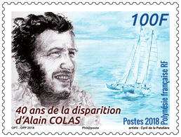 Frans-Polynesië / French Polynesia - Postfris / MNH - 40 Jaar Alain Colas 2018 - Frans-Polynesië