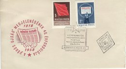 Hungary - The Comunist Paty 40 Years. H-1518 - History