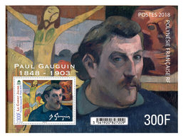 Frans-Polynesië / French Polynesia - Postfris / MNH - Sheet Paul Gauguin 2018 - Ongebruikt