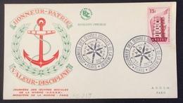 PS219 Europa 1076 Journées Oeuvres Sociales Marine  Honneur Patrie Valeur Discipline 1-2/12/1956 - 1921-1960: Période Moderne