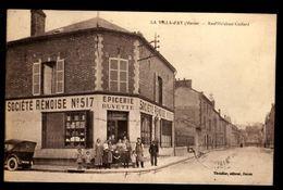 51 - LA VILLA D'AY (Marne) - Rue Melchior-Godard - Société Rèmoise N° 517 - Epicerie - Buvette - Autres Communes