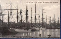 35 SAINT SERVAN Bâteaux Terreneuvas Dans Le Bassin - Animée - Saint Servan