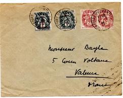 Lettre De Lyon Foire D'Echantillons (09.03.1926) Pour Valence - 1900-29 Blanc