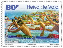 Frans-Polynesië / French Polynesia - Postfris / MNH - Heiva 2018 - Frans-Polynesië
