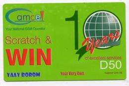 GAMBIE RECHARGE GSM GAMCEL D50 - Gambie