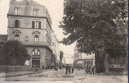 35 SAINT SERVAN La Rue Ville-Pépin ; Commerces - Animée - Saint Servan