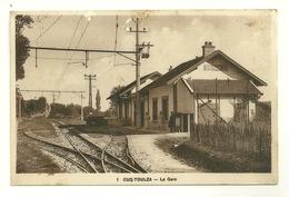 81 CUQ TOULZA GARE CHEMIN DE FER TRAIN TARN - France