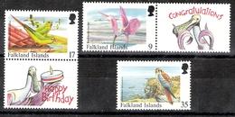 Falkland Islands 1998 Bird Definitives 9p, 17p And 35p MNH CV £9.50 - Oiseaux