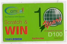 GAMBIE RECHARGE GSM GAMCEL D100 - Gambie