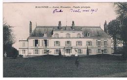 CPA MALNOUE Monastere Façade - France