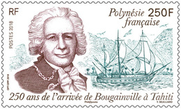 Frans-Polynesië / French Polynesia - Postfris / MNH - 200 Jaar Bougainville 2018 - Polynésie Française