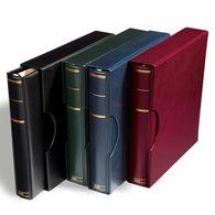 KABE Ringbinder APOLLO, Blue, Incl. Slipcase - Stockbooks