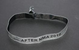 """Peu Courant ! Bracelet Tissus D'invité à La Cérémonie """"NRJ Music Awards"""" After NMA 2016 """" (après L'émission TV) Cannes - Merchandising"""