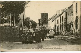 Querrien - Procession Au Bourg - France