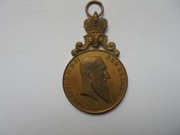 LIEGE-1872-1897-25eme ANNIV. CAVEAU LIEGEOIS Par MICHAUX-50 Grammes-45 Mm - Professionnels / De Société