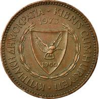 Monnaie, Chypre, 5 Mils, 1973, TTB, Bronze, KM:39 - Chypre