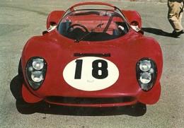 "3068 "" FERRARI DINO "" CARTOLINA POSTALE ORIGINALE NON SPEDITA - Motorsport"