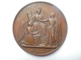 LEOPOLD DUC DE BRABANT-1853 Par WIENER-210 Grammes-75 Mm - Royaux / De Noblesse