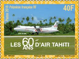 Frans-Polynesië / French Polynesia - Postfris / MNH - Complete Set 60 Jaar Air Tahiti 2018 - Frans-Polynesië