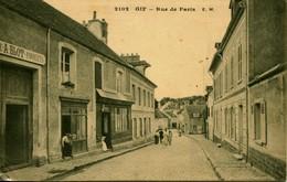 13131 ESSONNE  - GIF   :  Fabrique A. BLOT De Parquets A Gauche -  Rue De Paris ,     Circulée . - Gif Sur Yvette
