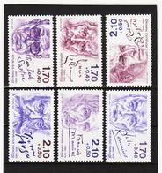 LKA242 10% KATALOG FRANKREICH 1985 Michl 2484/89 A ** Postfrisch SIEHE ABBILDUNG - Frankreich