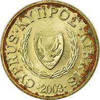 Monnaie, Chypre, Cent, 2003, TB, Nickel-brass, KM:53.3 - Chypre