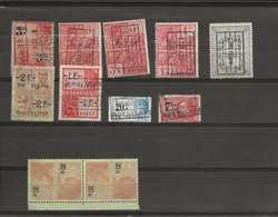 Postzegels Belgie Fiscale - Fiscaux