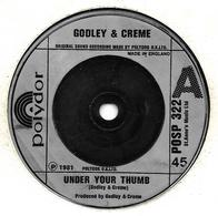 """Godley & Creme  """"  Under Your Thumb  """" - Filmmusik"""