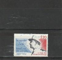 France Oblitéré 1989  N° 2611  Maréchal De Lattre De Tassigny - Used Stamps
