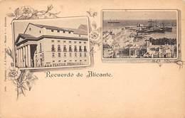 ESPAGNE. N° 53639. Alicante. Recuerdo De Alicante - Alicante