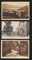 CPA - GERARDMER - 88. Vosges - Lot De 3 Cartes - HÔTEL De La POSTE / VILLE / LAC / SAUT Des CUVES - 2 Scannes Face & Dos - Gerardmer