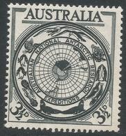 Australia. 1954 Australian Antarctic Research. 3½d MH. SG 279 - 1952-65 Elizabeth II : Pre-Decimals