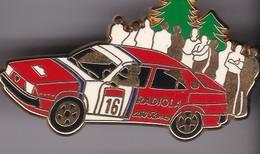 Pin's ALFA ROMEO RADIOLA SIGNE ARTHUS BERTRAND - Alfa Romeo