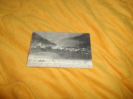 CARTE POSTALE ANCIENNE CIRCULEE DE 1902. / VISP.- VIEGE.../ MARQUE VISP VIEGE + CACHETS AMBULANT + TIMBRES - Zwitserland