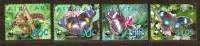 Aitutaki 2008 Yvertn° 595-98 *** MNH Cote 10 Euro Faune WWF Papillons Vlinders - Aitutaki
