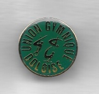 Pin's  Ville, Sport  Gymnastique, UNION  GYMNIQUE  DOLOISE  à  DOLE  ( 39 ) - Ginnastica