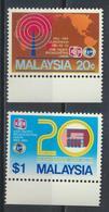 °°° MALAYSIA - Y&T N°297/98 - 1984 MNH °°° - Malesia (1964-...)