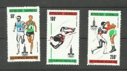 Gabon Poste Aérienne N°234 à 236 Neufs** Cote 4.15 Euros - Gabon