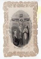 JESUS MEURT SUR LA CROIX   CANIVET XIXéme - Images Religieuses