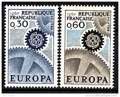 FRANCE 1967 -  SERIE Y.T. N° 1521 Et 1522 - 2 TP NEUFS** - Ungebraucht