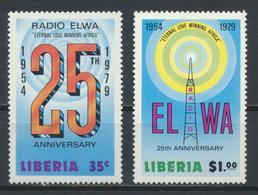 °°° LIBERIA - Y&T N°788/89 - 1979 MNH °°° - Liberia