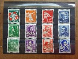 SVIZZERA - Pro Juventute - 3 Serie Anni '30 Nuovi */** + Spese Postali - Unused Stamps