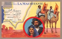 Publicité Des Produits Du Lion Noir - Les Colonies Françaises - La MAURITANIE - Dromadaires - Mauritanie